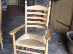 Ammerländer Binsenstuhl - Stuhl mit Binsensitz Eiche Massiv