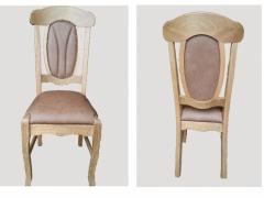 """Stuhl """"Vreden"""" Eiche rustikal gelaugt und gewachst"""