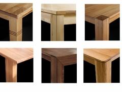 Esstische Eiche Massiv verschiedene Tisch und Plattenformen unsch
