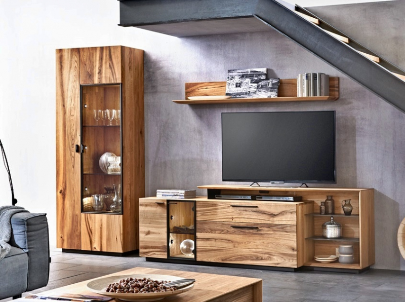 ausstellung massive eichenm bel modern rustikal eichenscheune bocholt. Black Bedroom Furniture Sets. Home Design Ideas