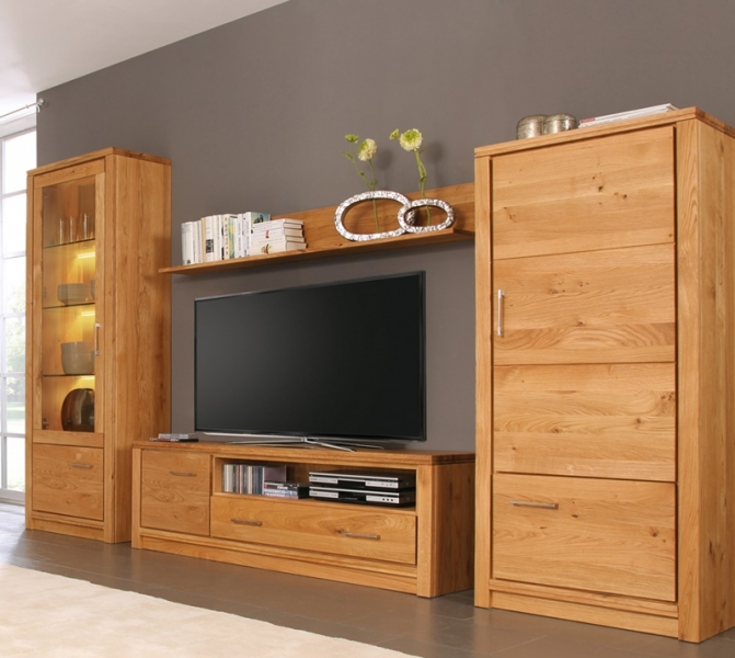 wohnwand massiv modern good large size of moderne wohnwande eiche wohnwand eiche modern. Black Bedroom Furniture Sets. Home Design Ideas