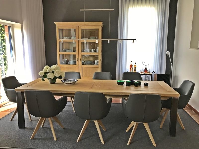 Massivholzmöbel modern  Eichenmöbel modern - Eichenscheune Bocholt