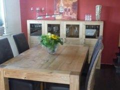 Tisch und Sideboard Asteiche geölt