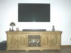 Fernsehschrank Eiche Rustikal