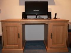 Schreibtisch Eiche massiv