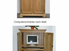 computerschrank eiche rustikal