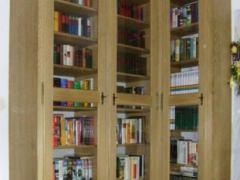 Bücherwand Eiche rustikal