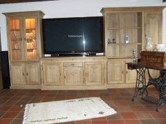 Wohnwand für Großbild TV