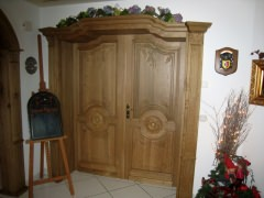 Eiche massiv Tür
