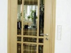 Zimmertür Eiche mit Sprossen und Glas