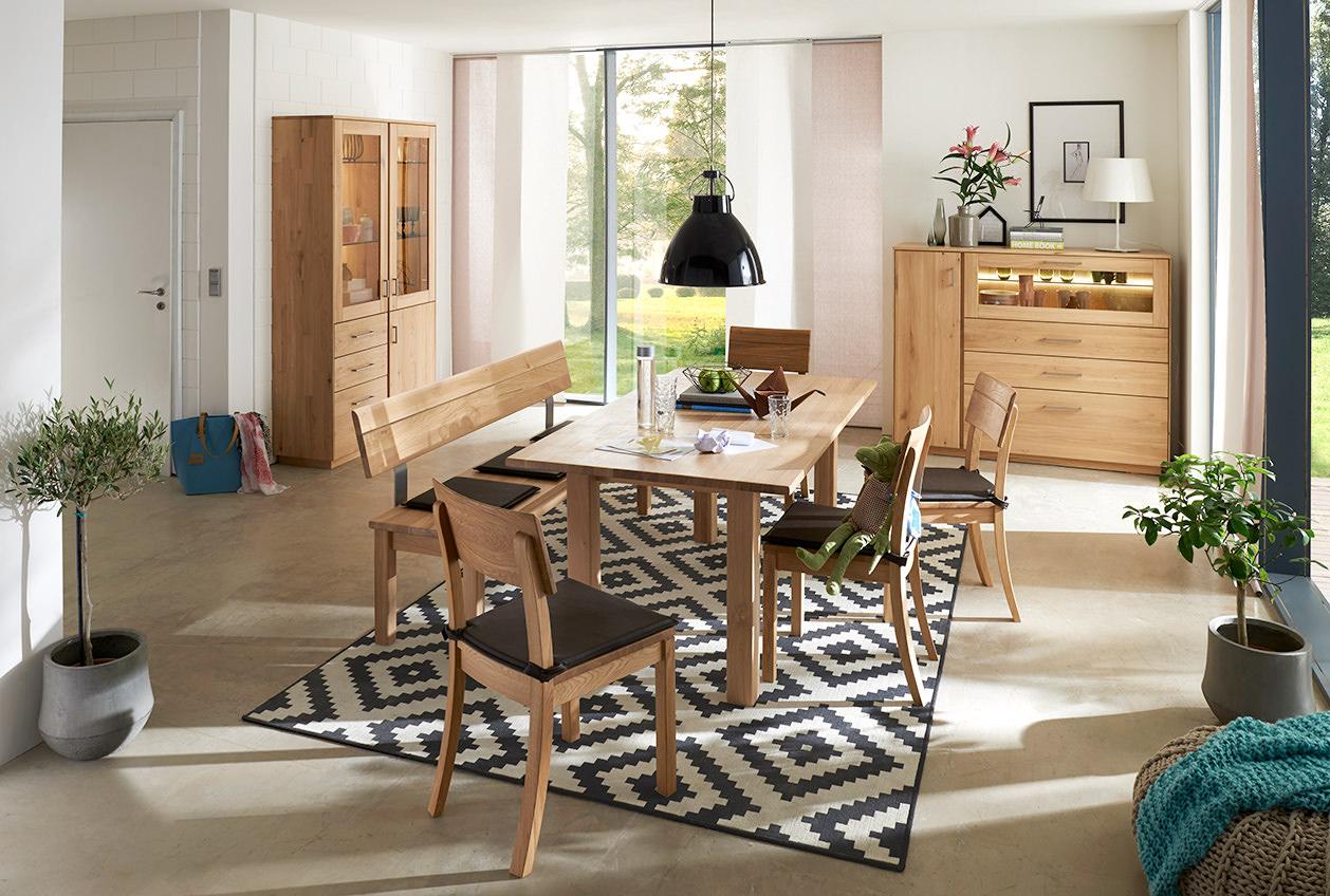 Beim Desem Möbelprogram Gibt Es Das Passende Sidebord Den Tisch Oder Stuhl  , Die Sitzbank Ist Auch Als Eckbank Lieferbar