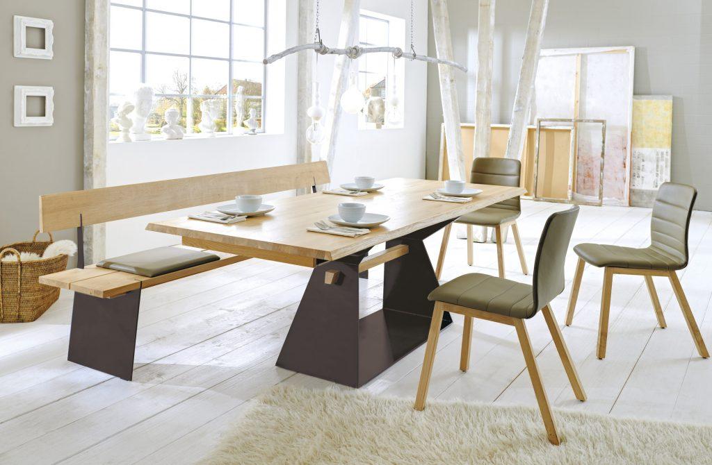 zweigl tischgruppenkollektion eichenscheune bocholt. Black Bedroom Furniture Sets. Home Design Ideas